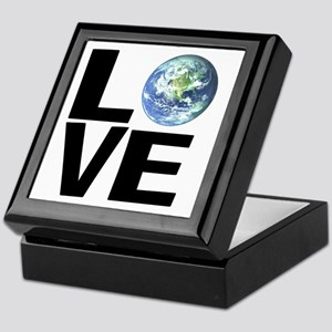 I Love the World Keepsake Box